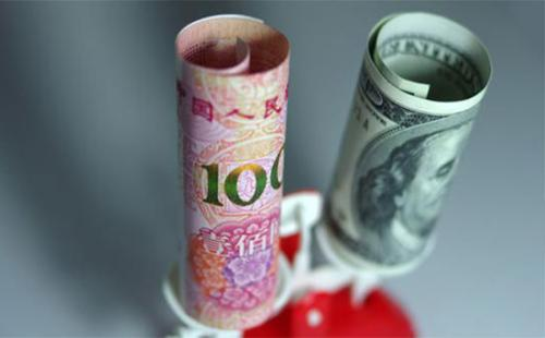 离岸人民币兑美元亚市早盘短线一度跌破6.98 报6.9804